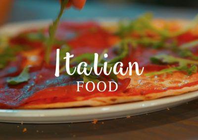 Italian Food – Pizzería Da Vinci