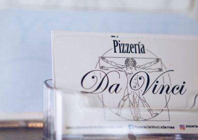Pizzería Da Vinci - Sesión de fotos
